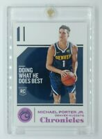2018-19 Panini Chronicles Pink Michael Porter Jr Rookie RC #73, Denver Nuggets