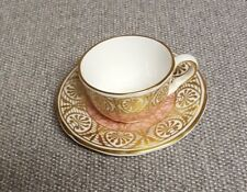 Royal Worcester Miniature Cup Saucer Compton & Woodhouse  -3