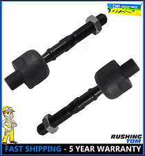 2 New Front Inner Tie Rod Ends Pair for a 04-08 Acura TL TSX 03-07 Honda Accord