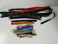 "10X Assorted Dress Upholstery Craft Nylon Metal Closed Open Ended Zips 8.66/""//"