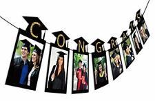 2020 Graduation Photo Banner Party Supplies - Congrats Grad Garland