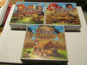 CATAPULT KINGDOMS DELUXE EDITION - KICKSTARTER EXCLUSIVE SET W/ 2 EXPANSIONS NEW