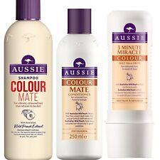 Aussie Colour Mate Trio Shampoo 300ml Conditioner 250ml 3 Minute Miracle Col