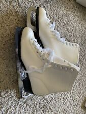 Ccm Pirouette Figure Skates Womens Size 9 White (Sharpened But Unused)