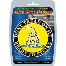 Dont Tread On Me Automobile Grill Badge