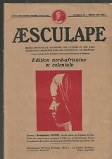 Aesculape magazine Edition north african and colonial No. 12 December 1932 REF