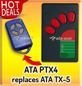 ATA PTX4 Suits TX-5 Remote Control TX5 SecuraCode TX5A