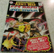 Our Army at War 163, (FN+ 6.5) 1966 Kubert art! 40% off Guide!