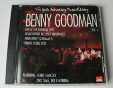 Benny Goodman, Yale Archives Recordings, Vol. 6: Live at the Rainbow Grill. CD