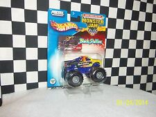Hot Wheels: Monster Jam, BLACK STALLION,AIRBORNE RANGER,2 trucks variations 1:64