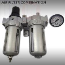 Filtro De Aire combinación Regulador Lubricador De Aire Del Compresor herramientas Trampa De Agua ty21