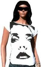 Amplified OFFICIEL BLONDIE strass Eye's DEBBIE HARRY VIP tunique tee-shirt XS