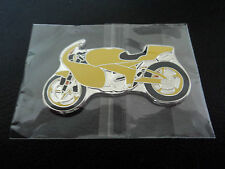 Somalia 2007 $1 Dollar Yellow Motorbike Motor Cycle Bike Design Shaped Coin Gift