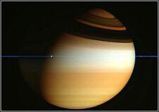 Poster Print: Cassini Spacecraft Crosses Saturn's Ring Plane