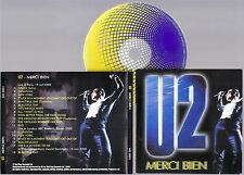 U2 - Merci Bien Live Paris, London, Stockholm 2000 CD New Very RARE