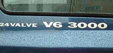 Pair of 24 valve V6 3000  Decals Mitsubishi