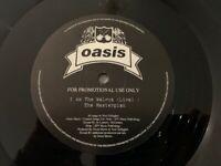 Oasis The Masterplan Sampler 12'' RARE 4 TRACKS 1998 PROMO Vinyl Noel Liam