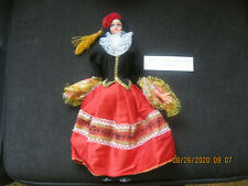 European Doll From Greece Handmade Ethnicities Cultures Bought 1982 14""