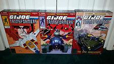 GI Joe Transformers SDCC 2011 2012 2013 Starscream Skystriker Hiss Tank Jetfire