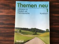 Themen Neu: Level 1: Kursbuch 1 by Bock, Muller, Aufderstrasse / LEARN GERMAN