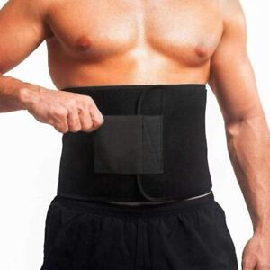 Waist Tummy Trimmer Sweat Belt Band Body Shaper Belt Wrap Burn Slim Exercise New