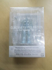 BANDAI Gundam FIX Figuration RX-78-2 Ver.Ka 2008 COMIC-CON LIMITED EDITION CLEAR