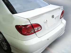 Toyota Corolla Altis Trunk Deck Lip Spoiler OE Type Sedan 2002-2008