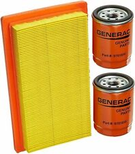 Generac 0J8478S Air Filter and 2X 070185ES(E) Oil Filter (1 Air & 2 Pack of Oil)