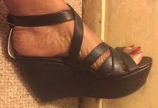 Bertie Wedge Sandals - Size 5