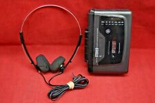 GE General Electric Cassette Walkman Player Portable AM/FM Model 3-5493A 5077