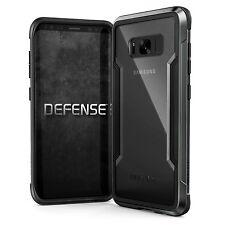 X-Doria Defense Shield Extremschutz Case Carbon Aluminium für Galaxy S8+ schwarz