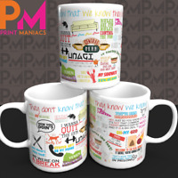 Ultimate Friends Show Quote Mug Best Christmas Birthday Present Fun Gift HIS HER