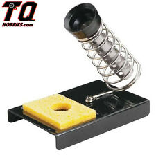 TrakPower TKPR1020 Deluxe Soldering Iron Holder w/Sponge  fast ship+ track#