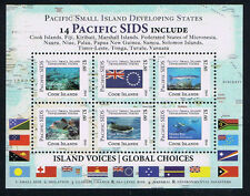 Cook Islands Pacific Small Island Developing States Stamp Marine Life Mini-Sheet