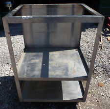 30x25x42 Stainless Steel Utility Cart Table Specialty Shelf Equipment Stand