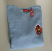 New with tag SS18 Supreme Ganesh light blue crewneck size M medium sweatshirt