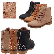 Kinder Schuhe Stiefel Stiefeletten für Mädchen Warm gefüttert Winterschuhe BL23