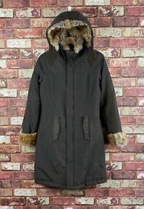 Womens Woolrich Boulder Down Filled Hooded Jacket Coat Size XS U.K. 8  : J48