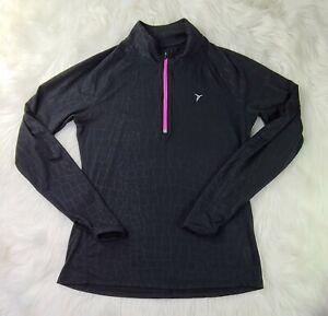 OLD NAVY ACTIVE Women's M 1/4 Zip Long Sleeve Top
