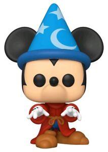 "Fantasia - Sorcerer Mickey 10"" US Exclusive Pop! Vinyl #993 - NEW"