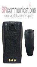 Ni-Mh Battery & Belt Clip for Motorola Radios CP150 CP200 CP200D PR400 CP200XLS