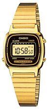 Casio Women's Digital Alarm Yellow Gold-Tone Bracelet 24.5mm Watch LA670WGA-1