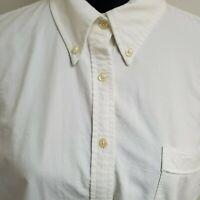 Tommy Hilfiger Women Long Sleeve Collar White Shirt XL