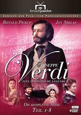 Giuseppe Verdi - Eine italienische Legende - Komplette Serie, 4 DVD NEU + OVP!