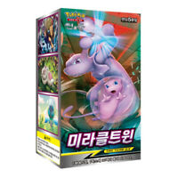 "Pokemon Cards ""Miracle Twin"" SM11 Booster Box 30 Packs Sun&Moon Korean Version"