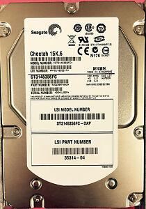 """Seagate ST3146356FC 146GB 15K.6 3.5"""" FC Hard Drive"""