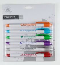 "New Disney Parks Attraction Business Company Pen Set of 6 - ""Psychic"" Version"
