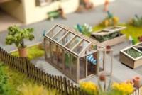 Noch 14357 HO/OO Gauge Greenhouse Laser Cut Minis Kit