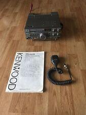 KENWOOD TS-440SAT Transceiver - TS-440 - Decent Shape Ham Radio + Mic + Manual