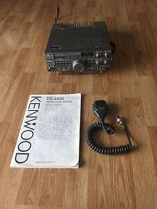 KENWOOD TS-440S Transceiver - TS-440 - Decent Shape Ham Radio + Mic + Manual